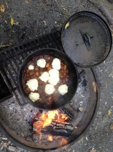 Dumplings on Stew