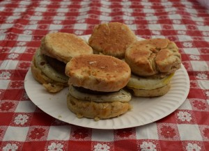 Peppered Breakfast Biscuits